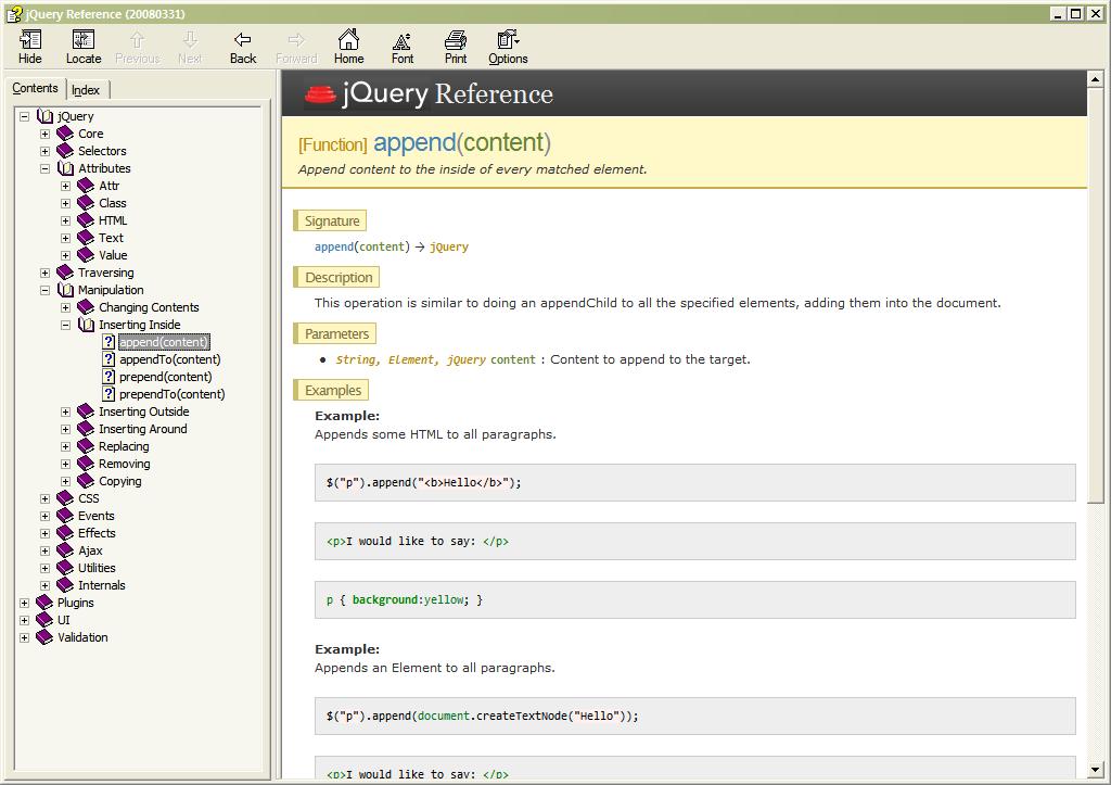 jquery documentation chm charupload rh charupload wordpress com javascript reference chm javascript manual chm download